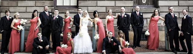 Valerie & John – Ballroom at the Ben Wedding Photography