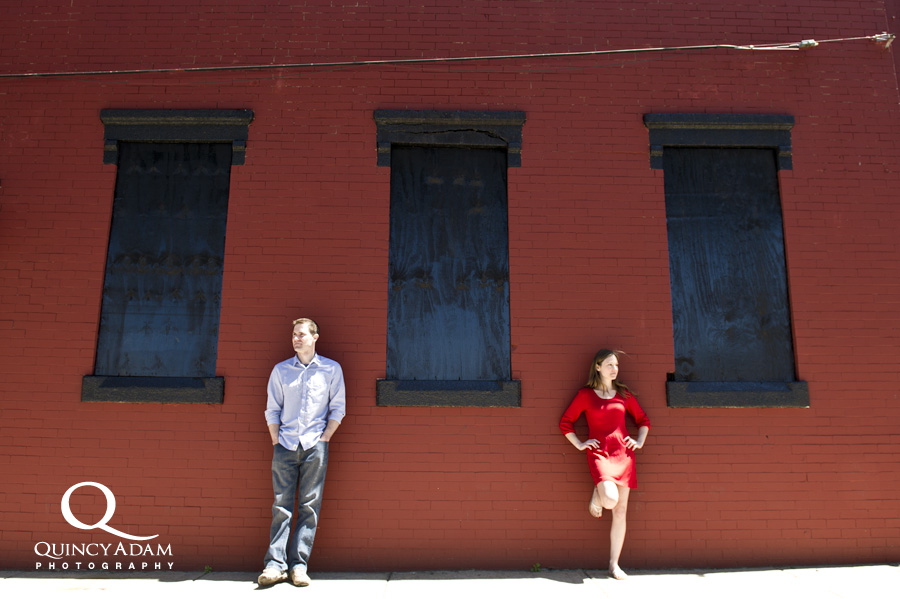 Laura and Jim - Fishtown Engagement Session - Philadelphia County Photographer - Quincy Adam Photography